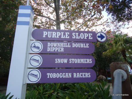 The Purple Slope